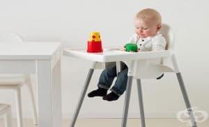 Предупреждават за опасни 4 модела столчета за хранене