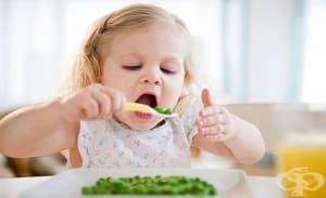 Ако майката се храни с повече зеленчуци, докато кърми, и бебето след това ще ги харесва