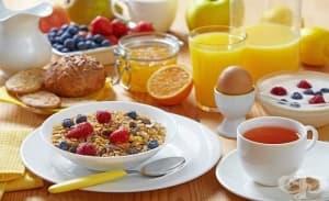 Още на закуска децата изконсумират половината количество захар, позволено им за деня