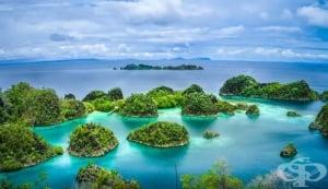 Два индонезийски острова изчезнаха поради постепенното покачване на морското равнище