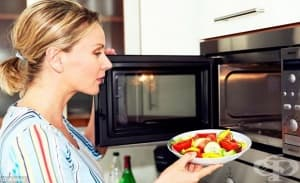 Микровълновата може би не унищожава полезните вещества в храната