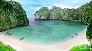 Властите в Тайланд ограничават достъпа до плажа от едноименния филм с Леонардо Ди Каприо