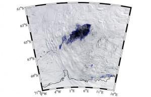 Откриха огромна дупка в Антарктида с неясен произход