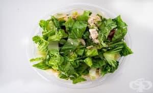 Приемането на по-големи количества зелени листни зеленчуци може да предотврати омазняване на черния дроб