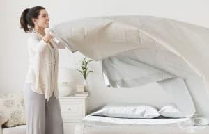 Оправянето на леглото сутрин не е здравословно