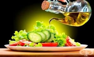 Повечето олио в салатата подобрява усвояването на витамините