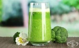Ежедневното пиене на сок от броколи може да помогне при диабет