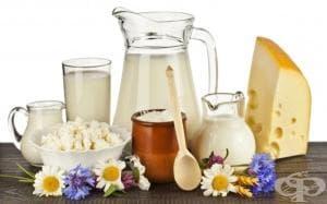 Диета с млечни и киселомлечни продукти (Бяла диета)