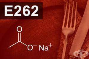 E262 - Натриев ацетат, Натриев диацетат (Sodium acetate, Sodium diacetate)
