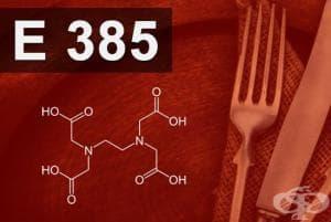 E385 - Калциево динатриев етилен диамин тетраацетат (Calcium disodium EDTA)