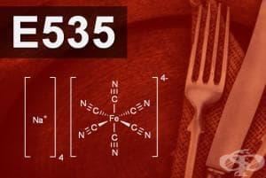 E535 - Натриев фероцианид (Sodium ferrocyanide)