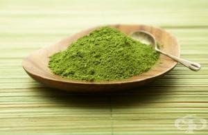 Матча - зелен чай на прах