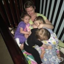Снимки, които чудесно обобщават какво е да имаш 3 малки деца