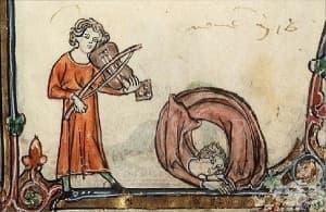 Рисунки от Средновековието, илюстриращи чувството за хумор на европейците преди стотици години