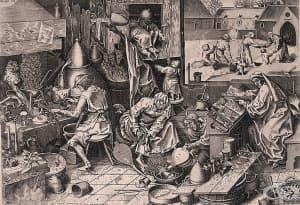 Развитие на алхимията в средновековна Европа