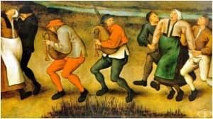 Танцувалната чума: масова психоза, отравяне или паранормално явление