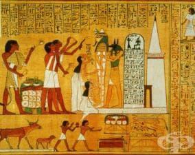 Заболявания, засягали голяма част от египетския народ