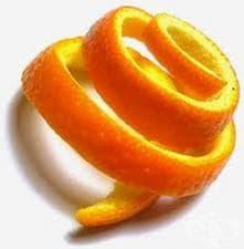 Портокаловата кора - нищо друго, освен полза