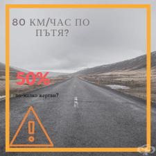 30 км/ч в града и 80 км/ч по пътищата. Одобрявате ли идеята?