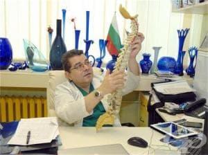 Д-р Илиян Стоев: Дисковата херния може да бъде извадена през тръбичка, колкото сламка