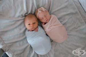 Първата и последна фотосесия на едно близначе
