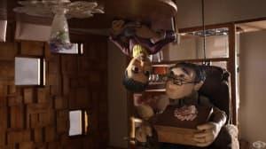 """Любовта преобръща светове с краката нагоре и обратно в номинирания за Оскар късометражен филм """"Обезумели"""""""