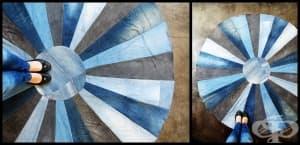 Ето как да си направим ефектен килим от старите дънки