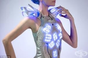 Холандски дизайнер изобрети рокля, която отразява човешките емоции