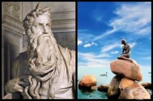 9 известни статуи и скритите мистерии около тях (1 част)