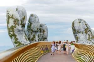 Спиращ дъха мост във Виетнам наподобява нещо от Властелина на пръстените