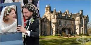 Добре дошли в Уортхил – замъкът в който Кит Харингтън и Роуз Лесли си казаха да