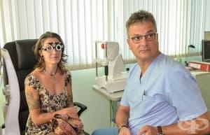 Млада  жена  възстанови зрението си от 10 на 100% с лазерна корекция в Болница Тракия - Стара Загора
