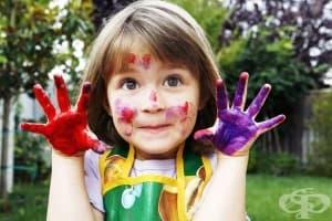 Цветовете работят за развитието на детската психика
