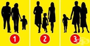 Познайте на коя картинка хората не са семейство