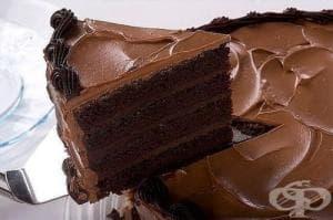Дяволска торта с крем Ганаш