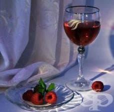 Малиново вино (бърза рецепта)