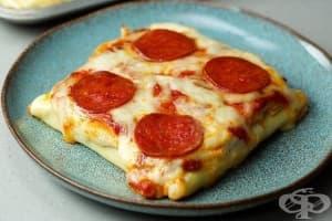 Джоб пица с кори за лазаня