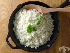 Домашен ориз от карфиол