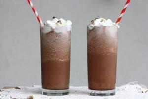 Студено мляко с шоколад