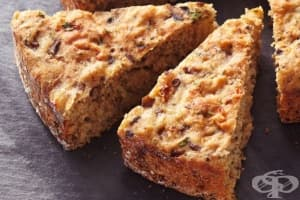 Хляб с чесън и гъби