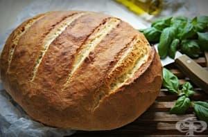 Чуден хляб без месене