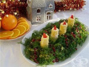 Коледно-новогодишни идеи за оформяне на ястията