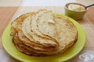 Палачинки с кокосово мляко
