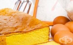 Тайната за приготвяне на пухкав пандишпан - Първа част