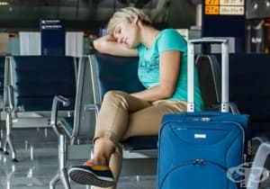 Преодолейте умората от часовата разлика по време на полет с етерични масла