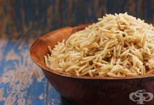 Ако искате по-бързо да приготвите кафяв ориз, накиснете го в студена вода