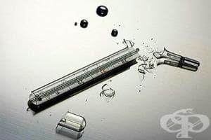 Как да действаме и какво не бива да правим, ако счупим живачен термометър?