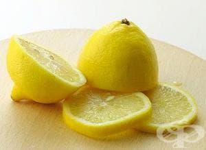 Как да свалим температурата на детето с резени от лимон?