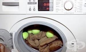 Как се пере пухено яке в пералня?