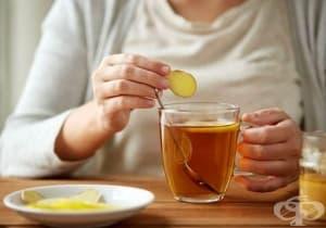 Консумирайте чай от джинджифил срещу чернодробна стеатоза